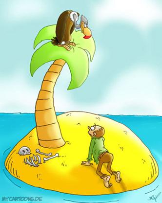 cartoon  2007 09 23 insel geier