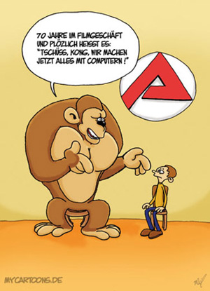 cartoon  2007 11 28 kong arbeitsamt