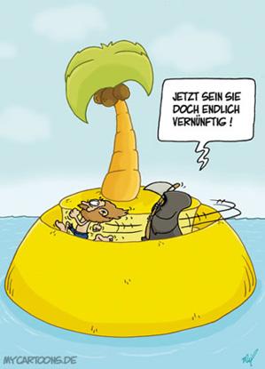 Mycartoons De Cartoons Von Mil Cartoon Insel Vernunft